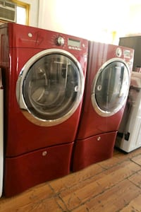 ELECTROLUX STEAM FRONT LOAD WASHER AND GAS DRYER  Wildomar