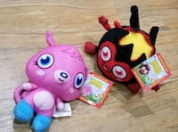 """Moshi Monsters - Collectible 6"""" Plush Dolls Gainesville, 20155"""