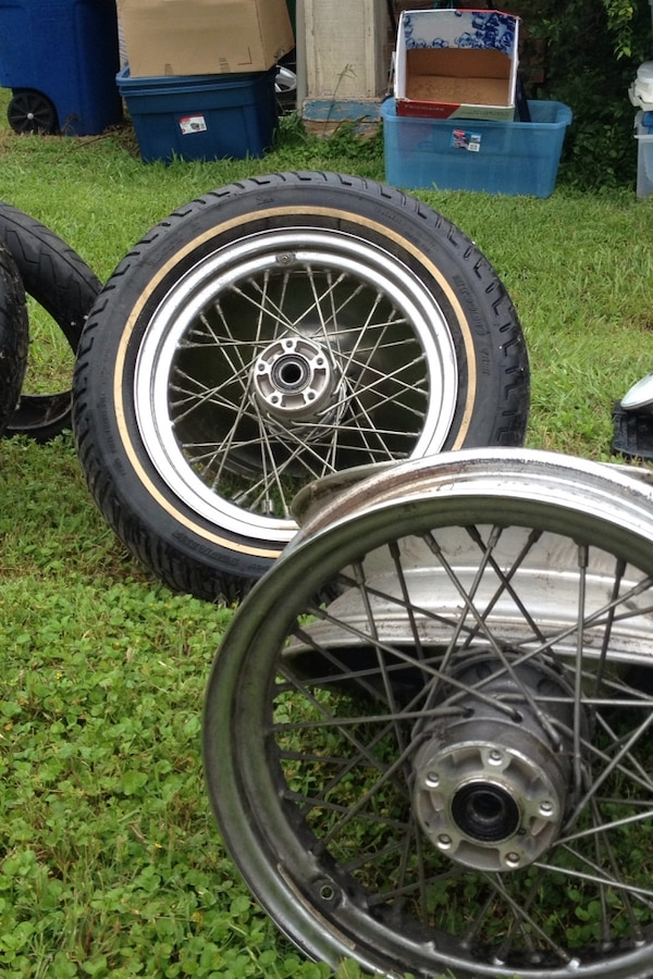 Used Harley Davidson Wheels >> Used Harley Davidson Wheels And Tires For Sale In San Antonio Letgo