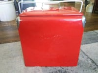1950-1960's Coca Cola picnic cooler Decatur, 62526