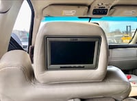 FOUR PIECES OF BUID IN DVD PLAYERS IN 2005 Cadillac Escalade headrest