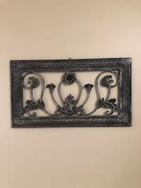 Decorative Metal Art Wall Hanging Charlotte, 28269