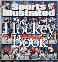 The Hockey Book... Hard Cover Book... Ásking Only $15 Firm.