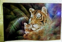 brown and white tiger painting Port Richey, 34668