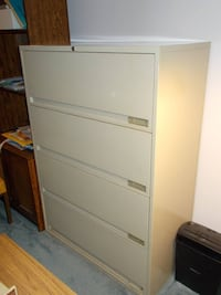 "Metal filing cabinet, 36"" wide TORONTO"