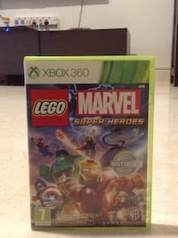 Xbox 360 Lego Marvel Super Heroes game case Bengaluru South, 560066