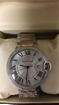 Beautiful and new Cartier Silver, with its box-case, I speak Spanish. Pinecrest, 33156