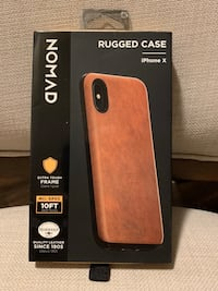 Nomad Rugged Leather iPhone X/XR