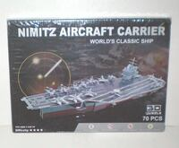 Nimitz Aircraft Carrier 3D 70 Piece Puzzle NIB London
