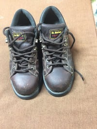 pair of black Doc Martens leather work boots McKeesport, 15132