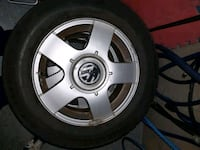 Aloy rims from 2002. VW JETTA 5x100 bolt patern Kitchener, N2R 1Y6