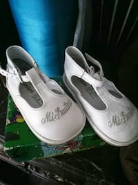 pair of white leather boat shoes Stockton, 95215