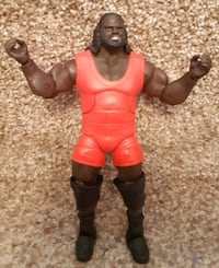 """7"""" WWE Mark Henry Mattel Elite Series WSM Hall of Pain Wrestling Action Figure  Pick-up in Newmarket   (Ref # Lot # 4 / Bx 11 / eb/apps)"""