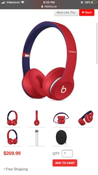 Solo 3 wireless Beats brand new selaed Montréal, H1N