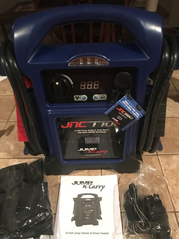 Jump N Carry Jnc660 >> Jump N Carry New Jnc 660 1700 Peak Amp 12 Volt Charger