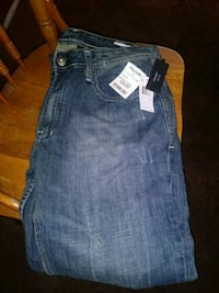 BUFFALO BRAND JEANS NEW WITH TAGS SIZE 34×32 Whittier