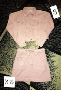 Pink Denim Set