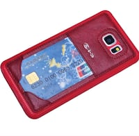 red leather smartphone case Toronto, M1C 3V1
