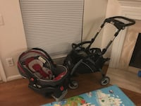 Graco Snugride 35 Carseat and Stroller  53 km