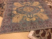 brown and black floral area rug Richmond Hill, L4C 9Z4
