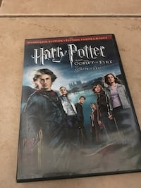 Harry Potter and the goblet of fire DVD  Kelowna, V1W 4H3