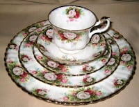 """Royal Albert """" Celebration Service for 8 with a few Extras    Head of Chezzetcook, B0J 1N0"""