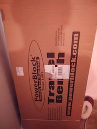 Brand new exercise travel bench never taken out of box Cockeysville, 21030