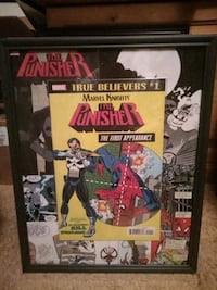 The punisher 1st appearance kill Spiderman comic book picture Edmonton, T5P 1T6