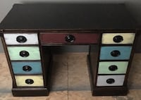 Vintage style multi color desk and chair   Fairfield, 45014