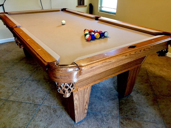 Used AMF PlayMaster Pool Table For Sale In Buckeye Letgo - Amf playmaster pool table