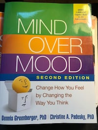 MIND OVER MOOD. THIS BOOK WILL CHANGE THE WAY YOU THINK Edmonton, T5K 1A4