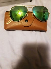 Greenland gold frames Ray-Bans mint condition 592 km