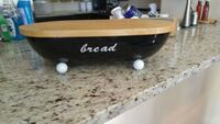 Bread box with cutting board lid  Barrie, L4N 6E9
