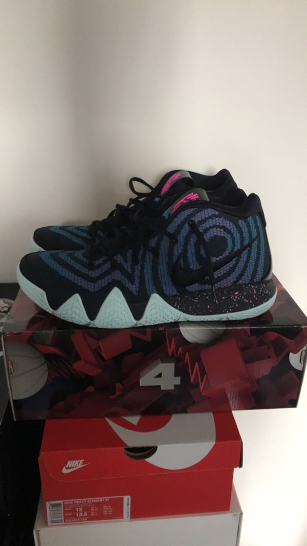 "1f11c934d33c Nike Kyrie 4 ""Decades Pack 80 s"