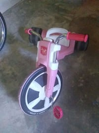 Girls big wheel
