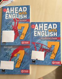 Ahead with english 7.sınıf test booklet vocabulary book test book set