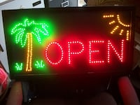 LED OPEN sign + other styles $39&up Toronto, M3J 2X8
