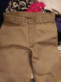 two gray and brown shorts 41 km