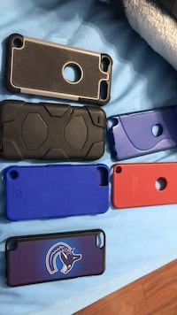six assorted-color iPhone cases Ladner, V4K 5G2