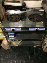 black and gray gas range oven Oxon Hill, 20745