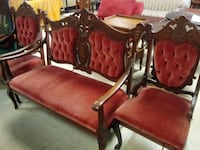 Antique bench with side chairs Norfolk, 23503