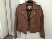 Authentic Michael Kors Brown Leather Jacket Calgary, T3C 0M5