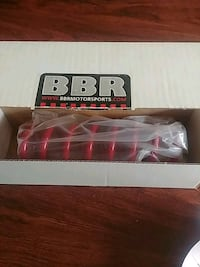 red BBR coil spring