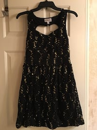 Black and gold holiday cocktail sequin dress  Las Vegas, 89117
