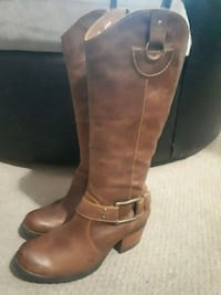 "Leather ""BORN"" Designer Boots Calgary, T3E 3W3"
