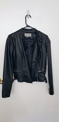 Leather slim jacket for woman Size S Toronto, M6C 2L1