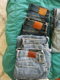 Size 0 and 00 lucky brand jeans  Costa Mesa, 92627