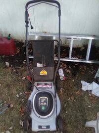 Task force electric mower