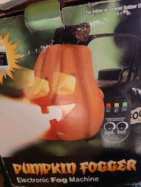 Halloween Pumpkin Fog Machine