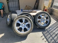 22inch 6 lugs rims and tires